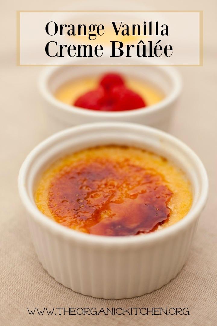 Orange Vanilla Creme Brûlée