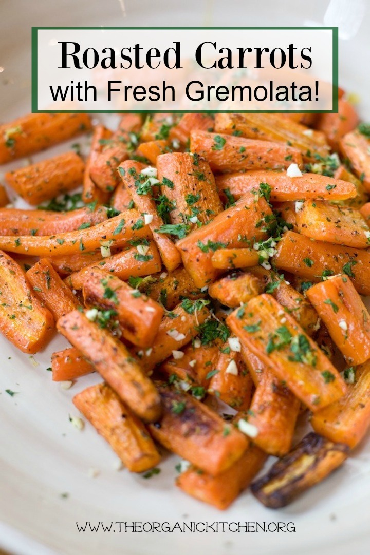 Roasted Carrots with Gremolata