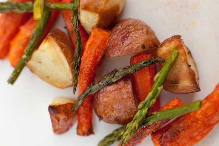 Simple Roasted Vegetables