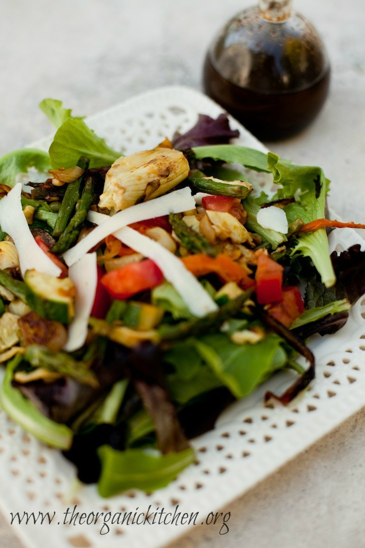 Grilled Veggie Salad from The Organic Kitchen