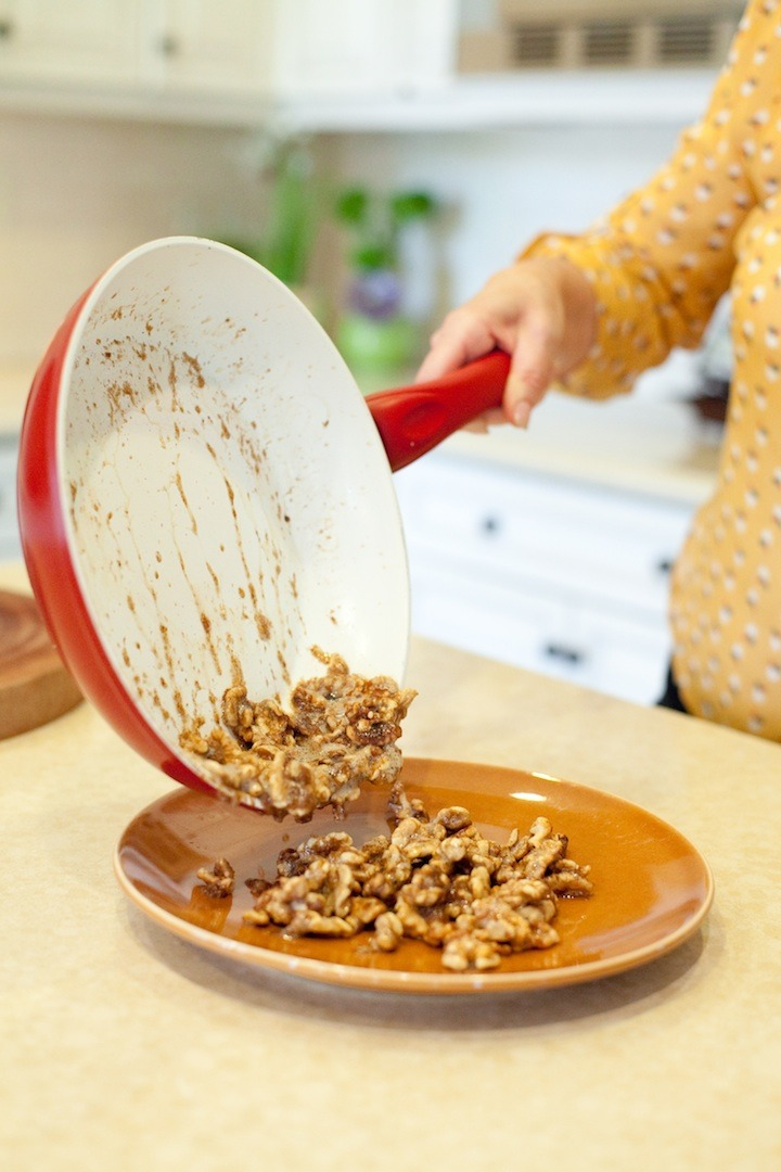 How to Caramelize Nuts