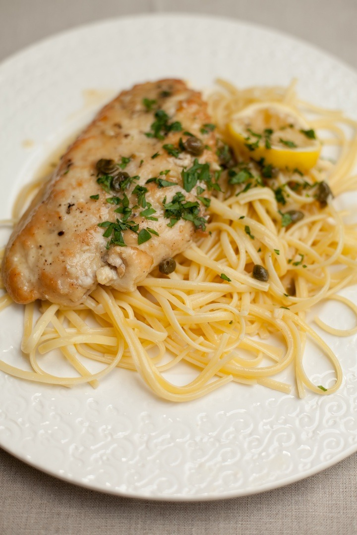 Chicken Piccata from The Organic Kitchen
