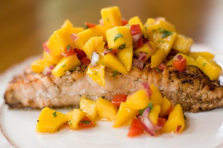 Tropical Salmon ~ A Family Favorite!