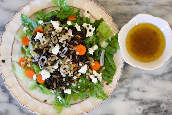 Chopped Salad with Lentils from The Organic Kitchen