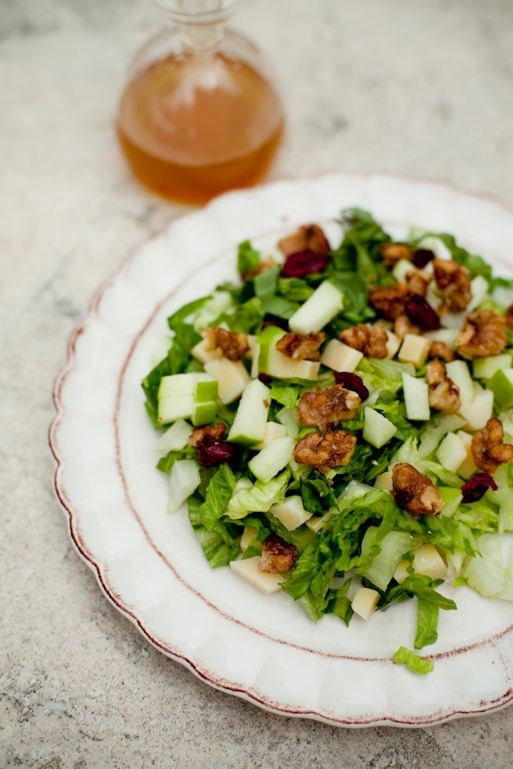 Chopped Salad with Apple Vinaigrette from The Organic Kitchen