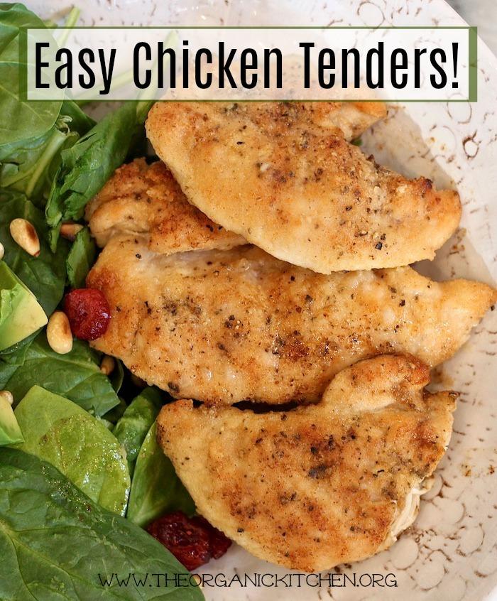 Easy Chicken Tenders: Gluten Free Option!