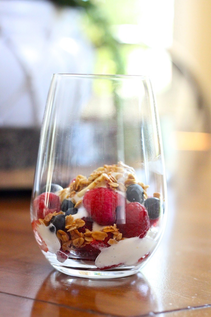 Four Healthy Afternoon Snacks
