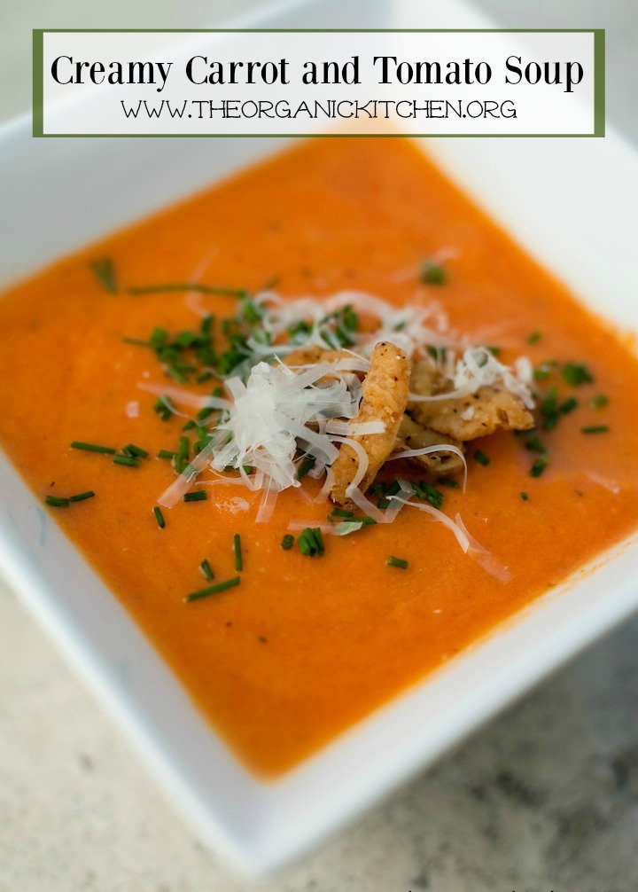 Creamy Carrot Tomato Soup: Comfort Food at it's Finest!