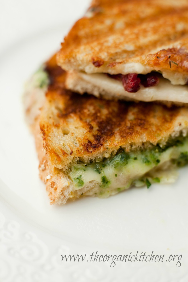 Gourmet Grilled Cheese from The Organic Kitchen