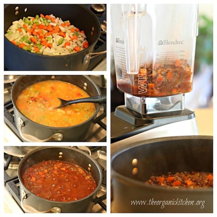 Hearty Lentil Soup! #lentilsoup #frenchlentilsoup #vegan #vegetarian #glutenfree