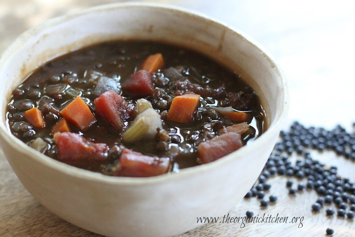 Hearty Lentil Soup from The Organic Kitchen