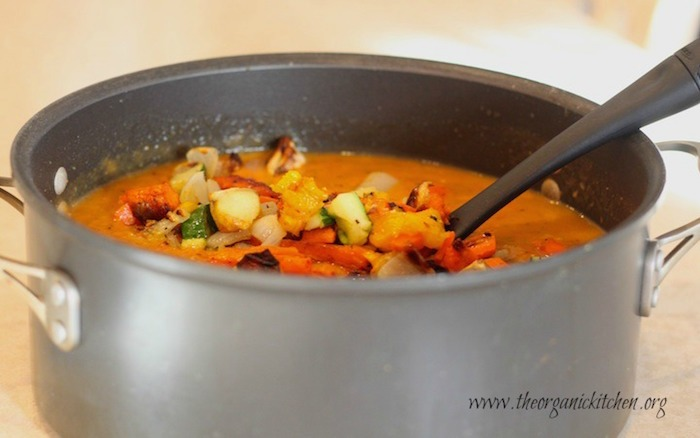Roasted Vegetable Soup!