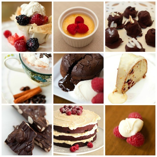 Valentine's Day Desserts from The Organic Kitchen