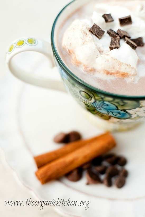 Spiced Hot Chocolate from The Organic Kitchen