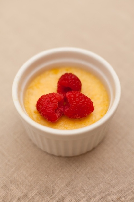Creme Brûlée from The Organic Kitchen