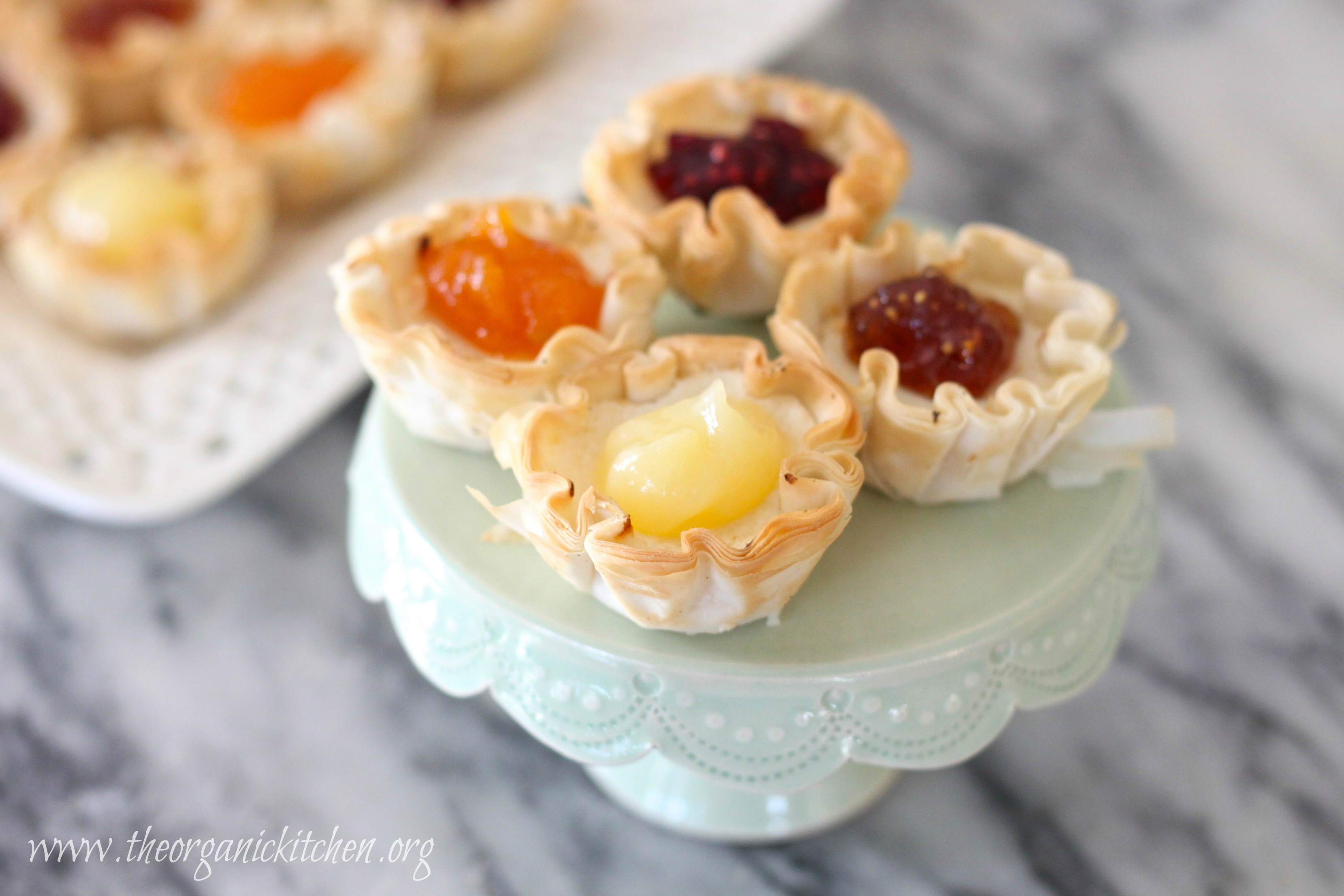 Goat Cheese Cheesecake mini cheesecake tartlets for all seasons | the organic kitchen