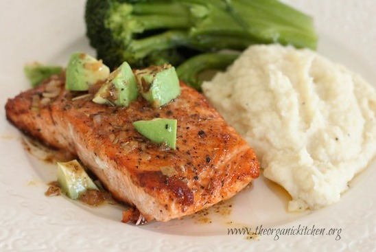 Salmon with Garlic Butter Sauce