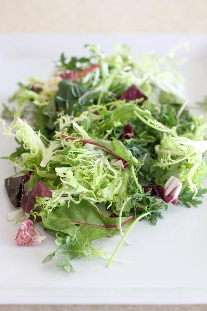 Spring Salad with Honey Chipotle Vinaigrette