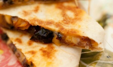 Caramelized Vegetable Quesadillas ~ and More Cinco De Mayo Recipes