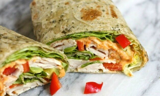 It's a Wrap! The Hummus Turkey Wrap