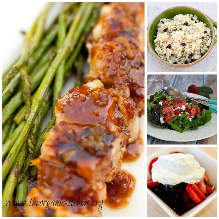 Easy Fouth Of July Menu~ Main Course, Sides and Dessert!