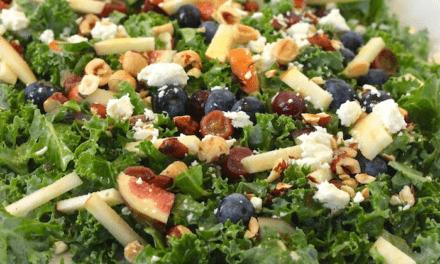 Kale Salad with Citrus Vinaigrette