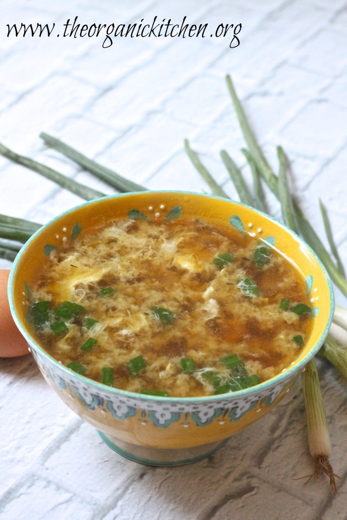 egg drop soup from The Organic Kitchen