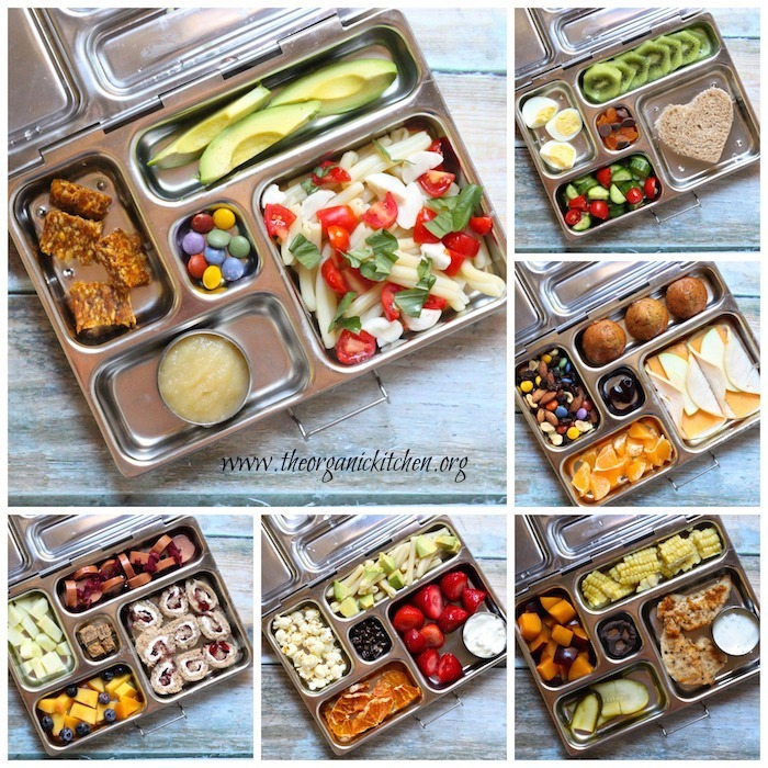 More Real Food Lunch Ideas For Back to School ~ Pre-K friendly!