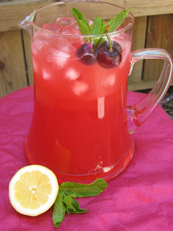 stonefruit recipe collection: drinks