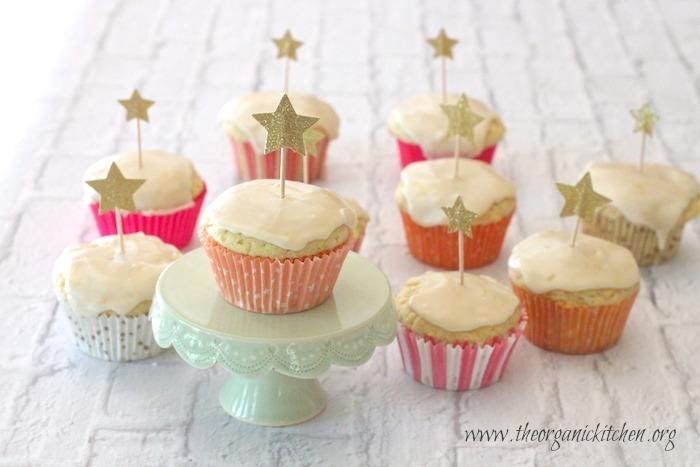 The Best Ever Lemon Cupcakes with Lemon Glaze