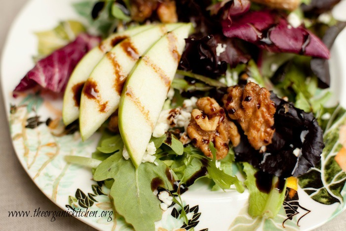The Organic Kitchen 'House Salad'. The salad that goes well with any main course!