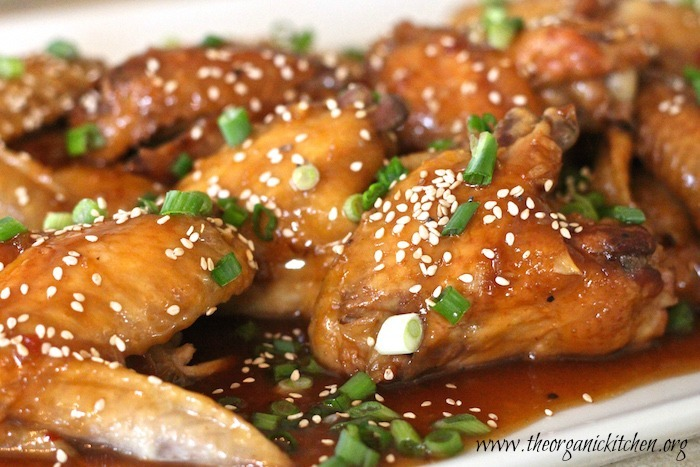 Apricot Sesame Crock Pot Chicken Wings~ Get The Party Started!