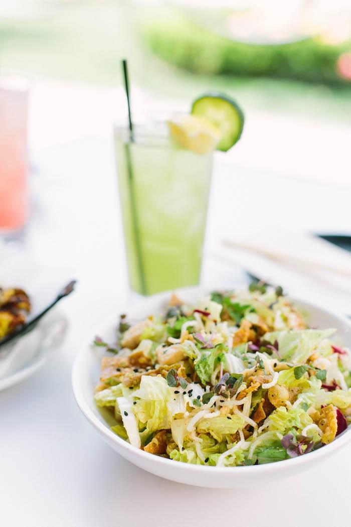 Crispy Chicken Salad with Plum Vinaigrette ~ Part 5 of The Organic Kitchen's Favorite Restaurant Series: Katsuya