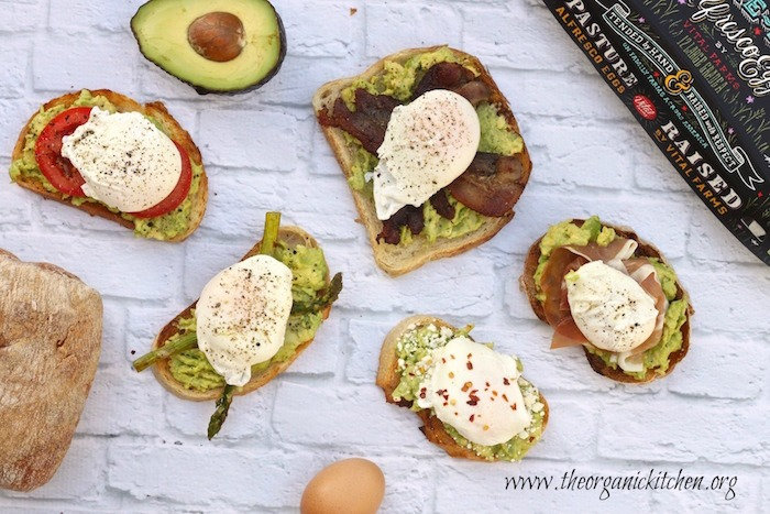 Avocado Toast with Perfectly Poached Eggs