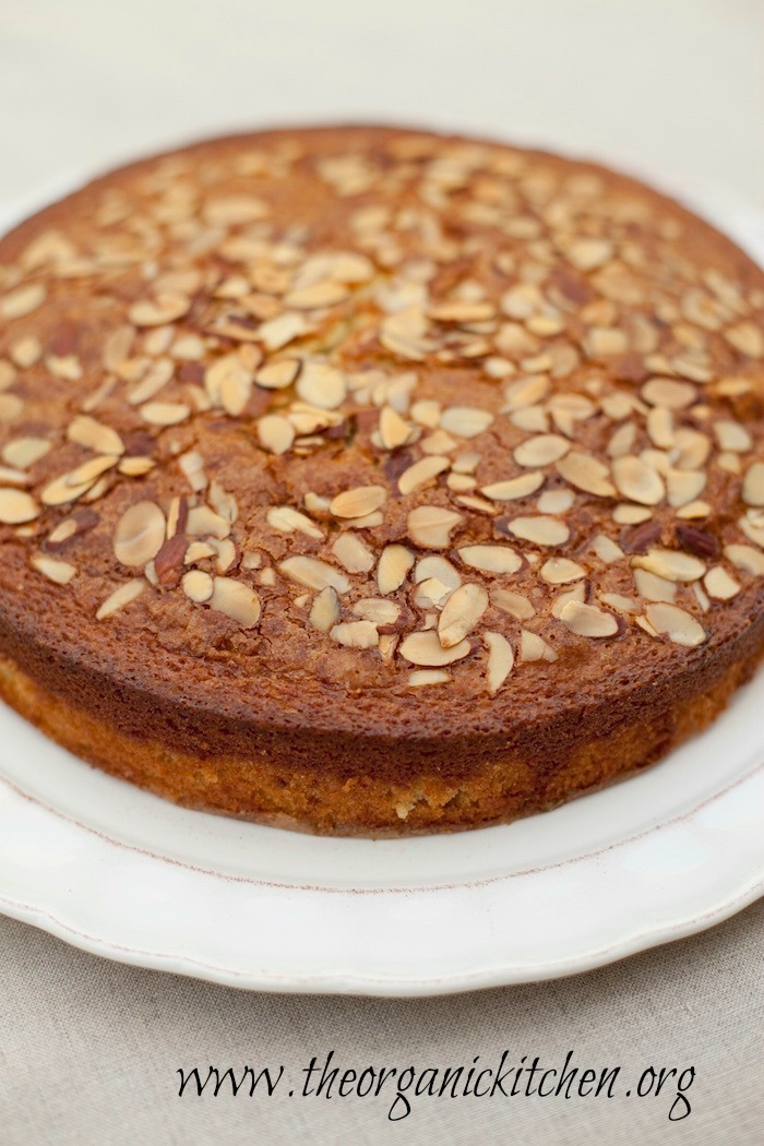 Traditional Olive Oil Cake The Organic Kitchen Blog and Tutorials