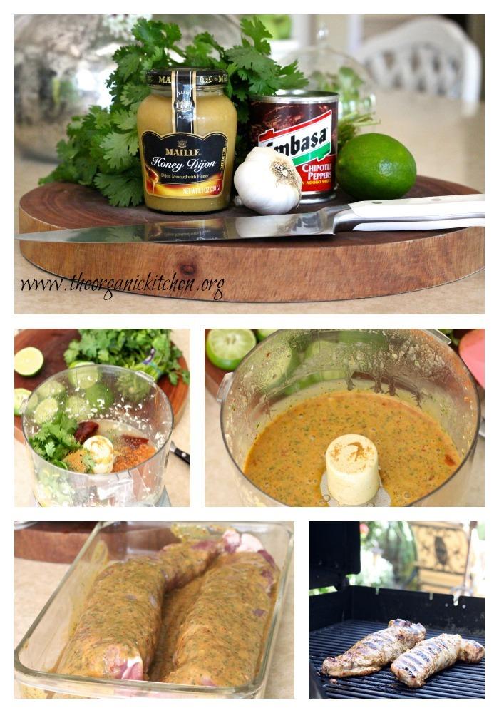 BBQ Spicy Lime Pork Tenderloin
