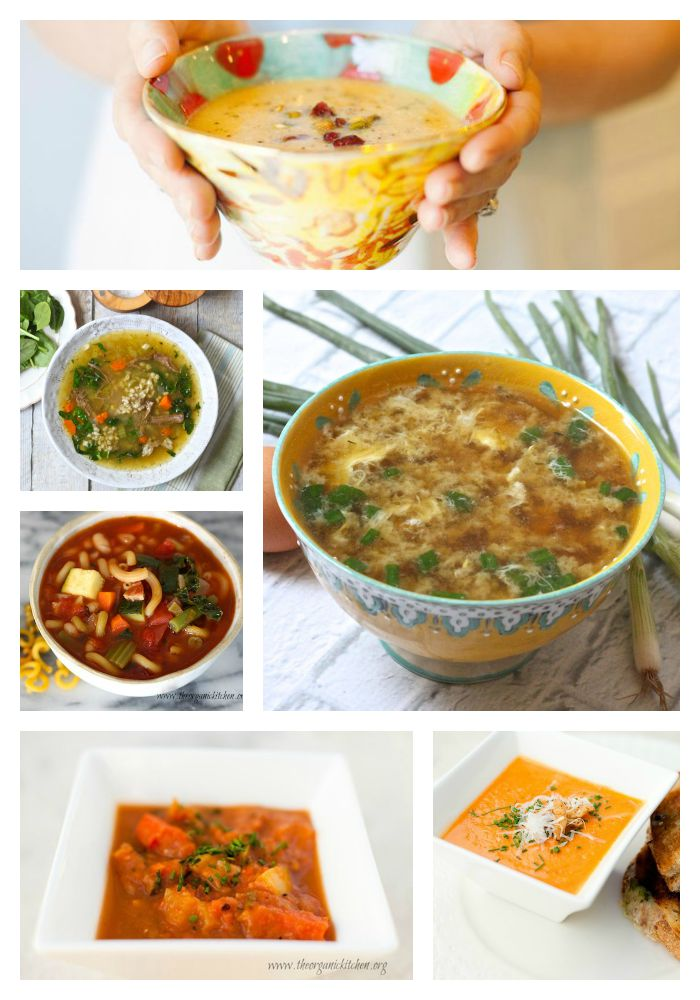 Soup Lovers Rejoice! A collection of healthy and delicious fall soups.