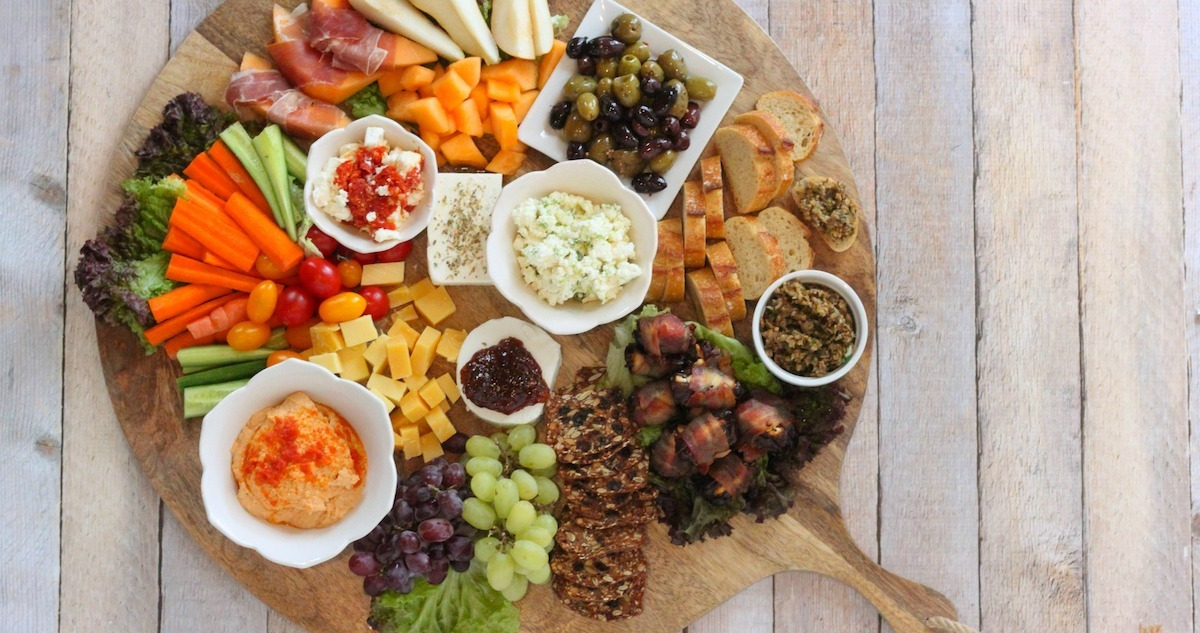 The Ultimate Mediterranean Appetizer Platter The Organic Kitchen Blog And Tutorials