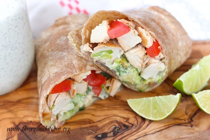 The Ranch Chicken Wrap