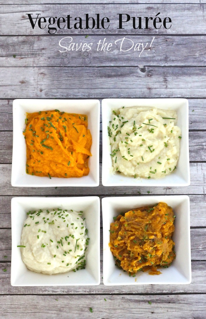 Vegetable Puree Saves the Day!