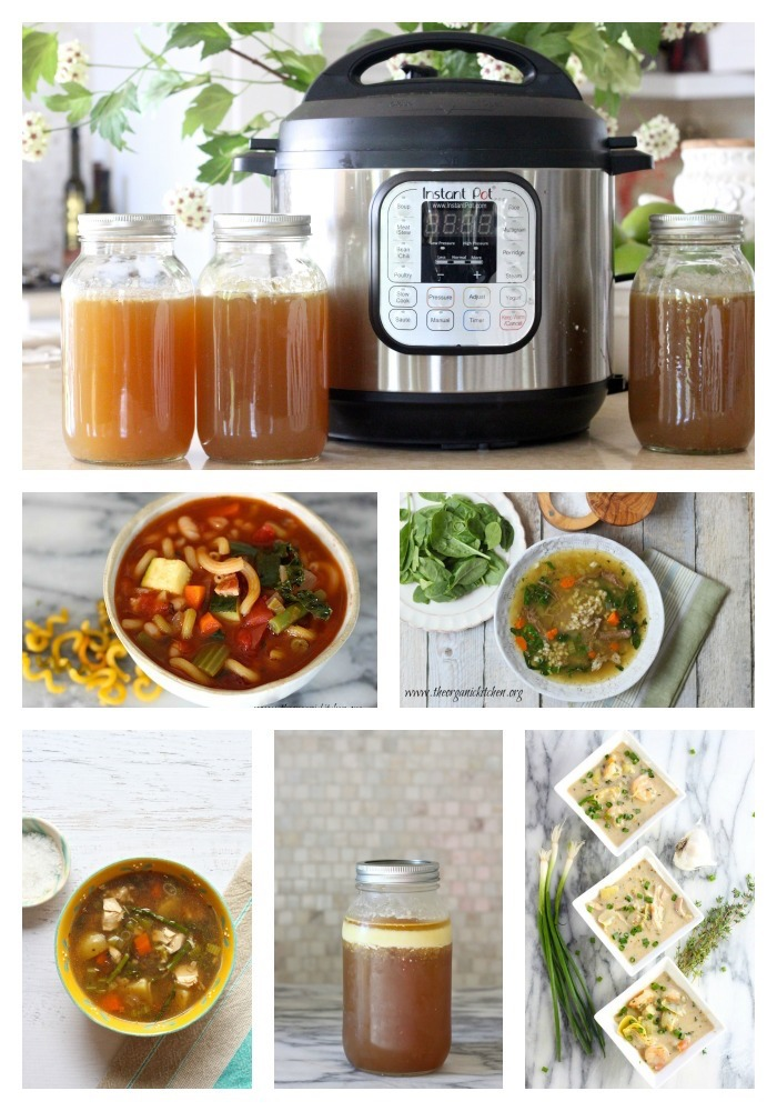 Bone Broth in as Little as 30 Minutes!