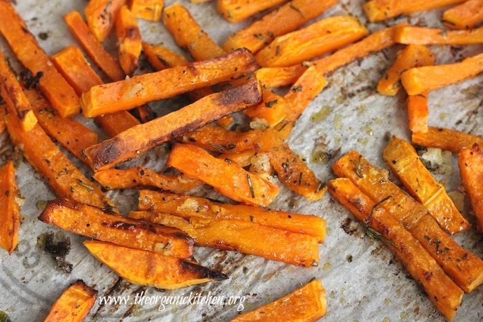 These Rosemary Butternut Squash 'Fries' are so addicting! This recipe is Paleo and Whole 30 Complaint, gluten free, grain free and dairy free.