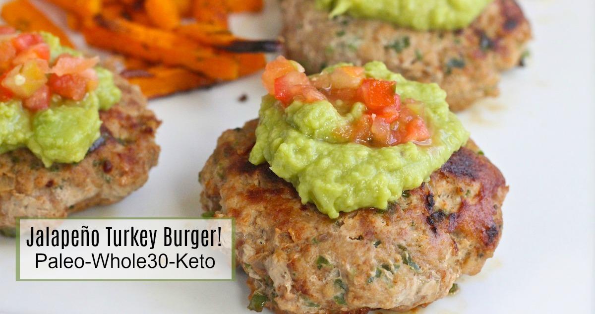Jalapeo Turkey Burgers The Organic Kitchen Blog And Tutorials