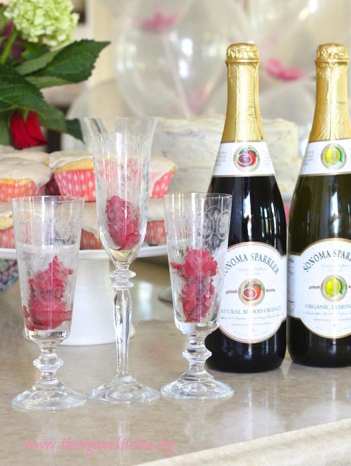 The Citrus Sparkler-Non Alcoholic Party Drink
