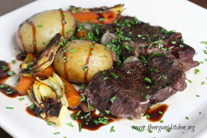 Braised Short Ribs and Vegetables in Instant Pot, Crock Pot or Dutch Oven