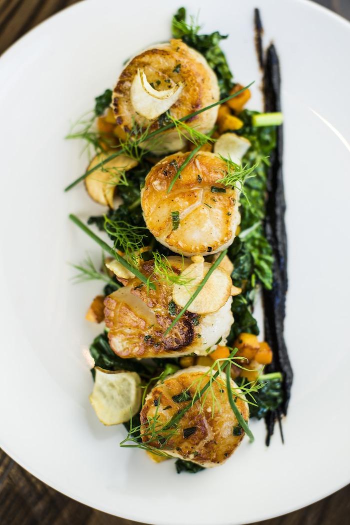 """My Favorite Restaurant Series"": The Waldorf Astoria Park City ~ Divers Scallops"
