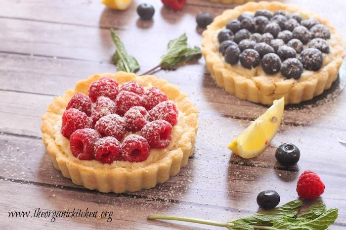 Lemon Berry Mascarpone Tarts | The Organic Kitchen Blog ...