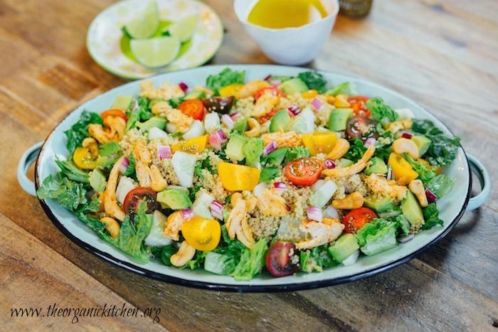 Easy Blackened Chicken and Quinoa Salad