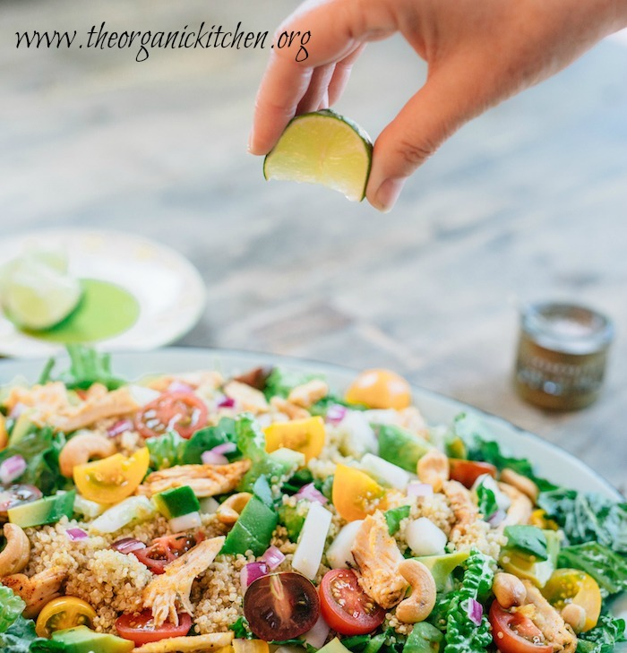 Easy Blackened Chicken and Quinoa Salad