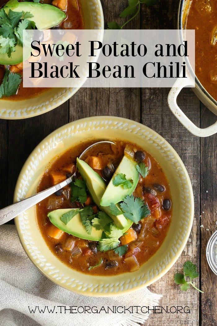 Sweet Potato and Black Bean Chili!